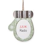 JAM Radio Mitten Ornament