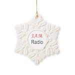 JAM Radio Snowflake Ornament