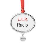 JAM Radio Oval Year Ornament