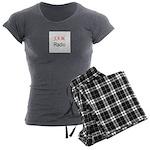 JAM Radio Women's Charcoal Pajamas