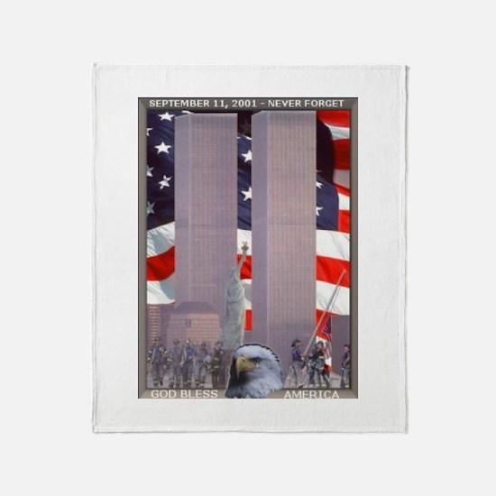 In Rememberance Throw Blanket
