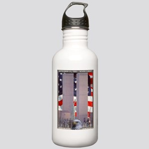 In Rememberance Stainless Water Bottle 1.0L