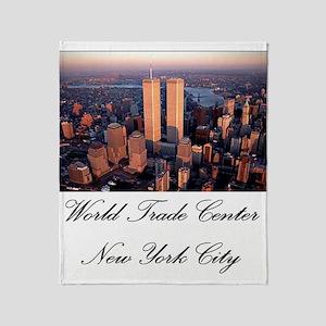 WTC at Sunrise Throw Blanket