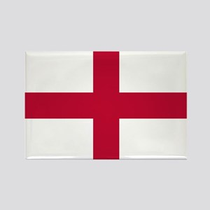 St. George's Cross Rectangle Magnet