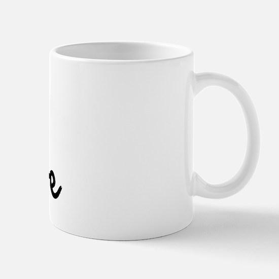I heart my triathlete Mug