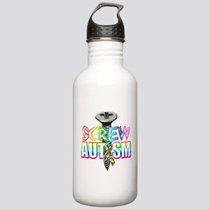 Screw Autism Stainless Water Bottle 1.0L