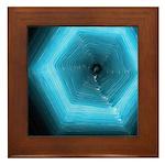 Hexa-Gone-Framed Tile