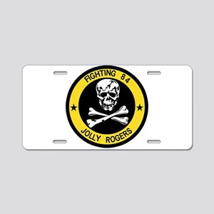 VF-84 Jolly Rogers Aluminum License Plate
