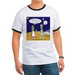 Alien Shopping Ringer T