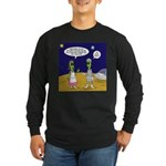 Alien Shopping Long Sleeve Dark T-Shirt