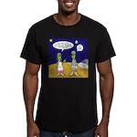 Alien Shopping Men's Fitted T-Shirt (dark)