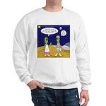 Alien Shopping Sweatshirt