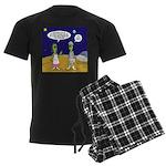 Alien Shopping Men's Dark Pajamas