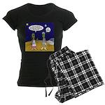 Alien Shopping Women's Dark Pajamas