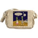 Alien Shopping Messenger Bag