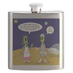Alien Shopping Flask