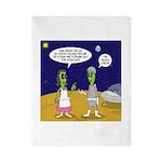 Alien Shopping Twin Duvet Cover