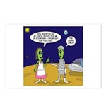 Alien Shopping Postcards (Package of 8)