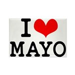 I Love Mayo Rectangle Magnet (10 pack)