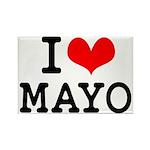 I Love Mayo Rectangle Magnet