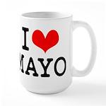 I Love Mayo Large Mug