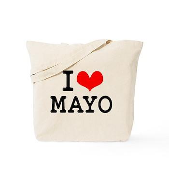I Love Mayo Tote Bag