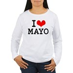 I Love Mayo Women's Long Sleeve T-Shirt