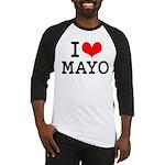 I Love Mayo Baseball Jersey