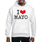I Love Mayo Hooded Sweatshirt