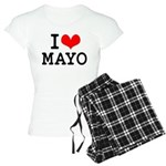 I Love Mayo Women's Light Pajamas