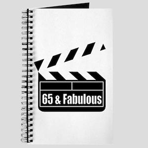 HAPPY 65TH BIRTHDAY Journal