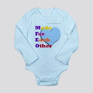 MFEO Long Sleeve Infant Bodysuit