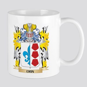 Urin Family Crest - Coat of Arms Mugs