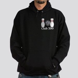 Club 300 Logo 3 Hoodie (dark) Design Front Pocket