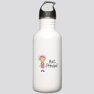 Cute Assistant Principal Stainless Water Bottle 1.