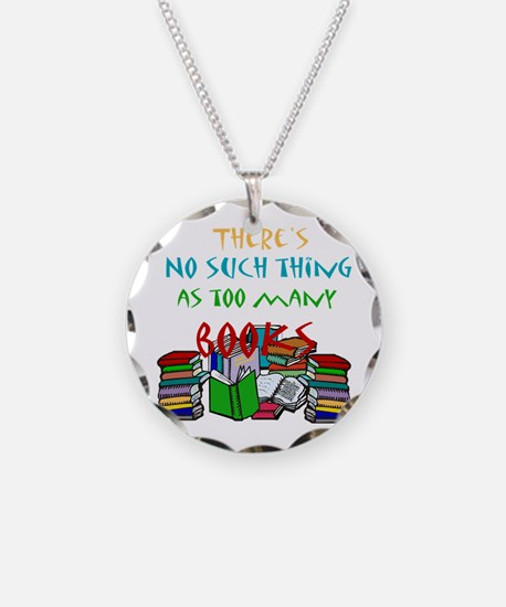 No such thing as too many boo Necklace Circle Char