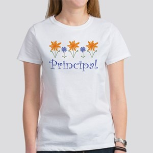 Principal Gift Flowered Women's T-Shirt