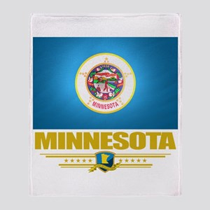 Minnesota Pride Throw Blanket