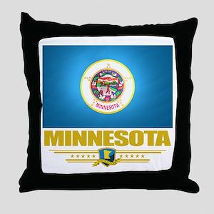 Minnesota Pride Throw Pillow