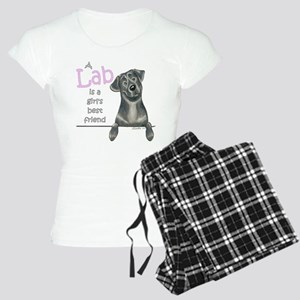 Black Lab BF Women's Light Pajamas