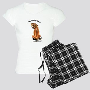 Rhodesian Ridgeback Manipulate Women's Light Pajam