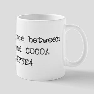 Coffee and Cocoa Mug