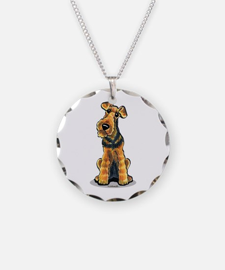 Airedale Welsh Terrier Necklace