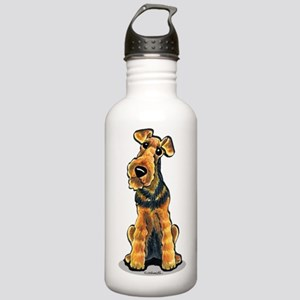 Airedale Welsh Terrier Stainless Water Bottle 1.0L