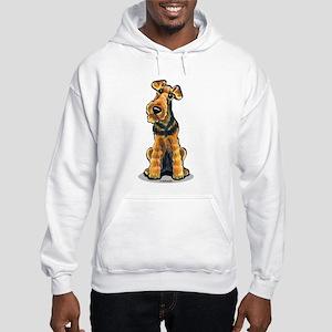 Airedale Welsh Terrier Hooded Sweatshirt