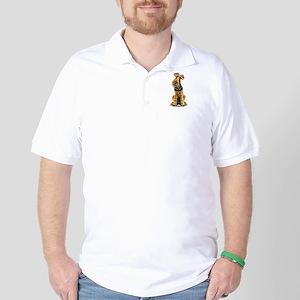 Airedale Welsh Terrier Golf Shirt