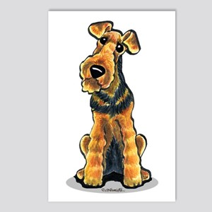 Airedale Welsh Terrier Postcards (Package of 8)