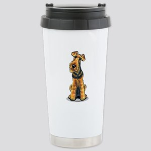 Airedale Welsh Terrier Stainless Steel Travel Mug