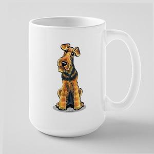 Airedale Welsh Terrier Large Mug