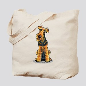 Airedale Welsh Terrier Tote Bag